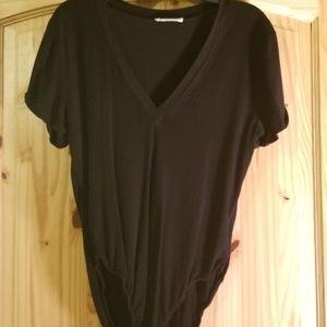 Black Tee Bodysuit